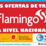 Convocatorias abiertas en almacenes Flamingo a nivel Nacional