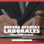 Convocatoria a nivel NACIONAL para abogados
