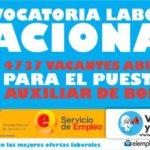 Convocatorias abiertas para auxiliares de bodega a nivel Nacional