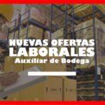 Oferta de trabajo se requiere Auxiliar de bodega en Bogotá