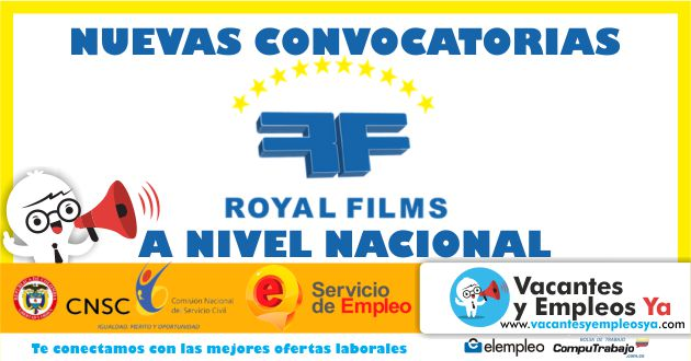 Convocatoria Royal Films