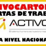 Convocatorias abiertas en Activos S.A. a Nivel Nacional