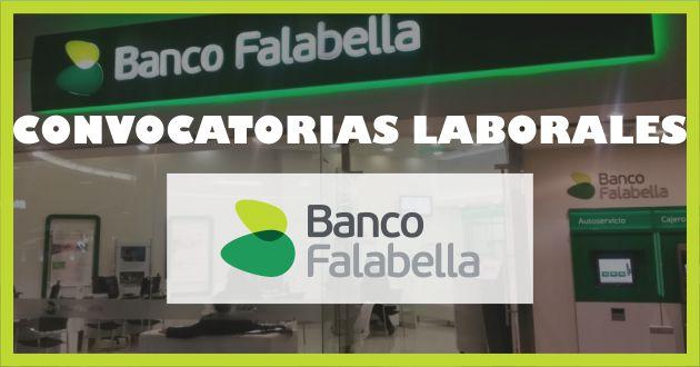 Convocatorias Banco Falabella