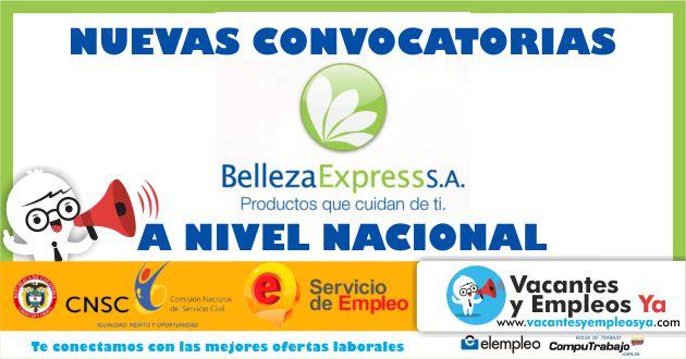 Convocatorias Belleza Express
