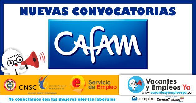 Convocatorias CAFAM