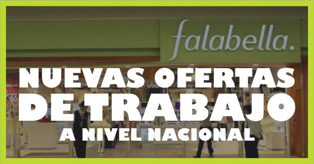 Convocatorias Falabella
