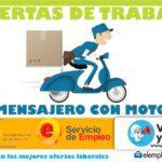Se requiere Mensajero/a motorizado en Medellín