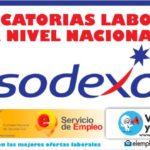 Convocatorias laborales abiertas en SODEXO S.A.S