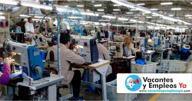 Convocatorias laborales operarios textiles