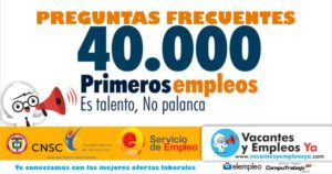 40000 primeros empleos