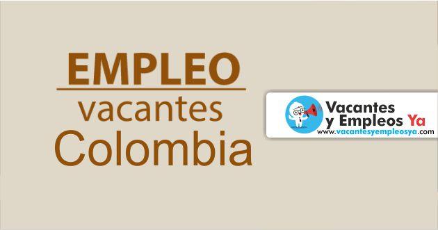 Convocatorias laborales ofertas de trabajo Colombia